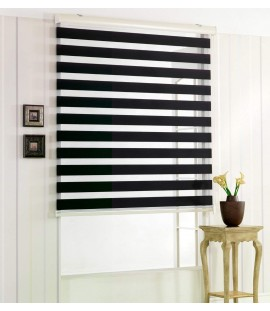 Black Zebra Shades