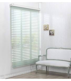 Green Sheer Horizontal Blinds