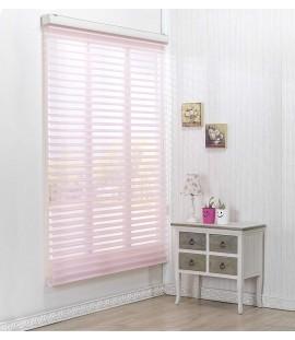 Pink Sheer Horizontal Blinds